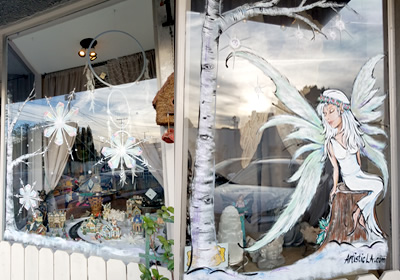 Seasonal Storefront Window Art By >> Storefront Window Painting
